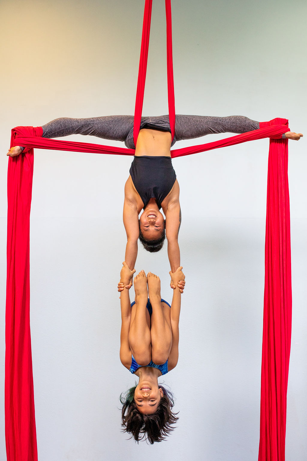 aerial silk duo lessons