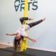 kids aerial silk class
