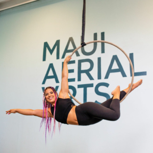 maui aerial lyra teacher