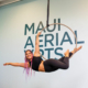 maui aerial lyra teacher