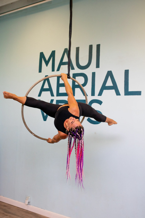 maui aerialist teacher amy