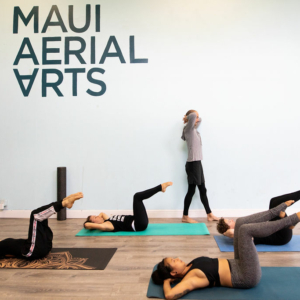 maui yoga pilates blend class